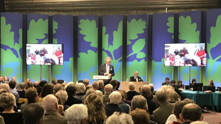 We turn the National Trust AGM into a live online event