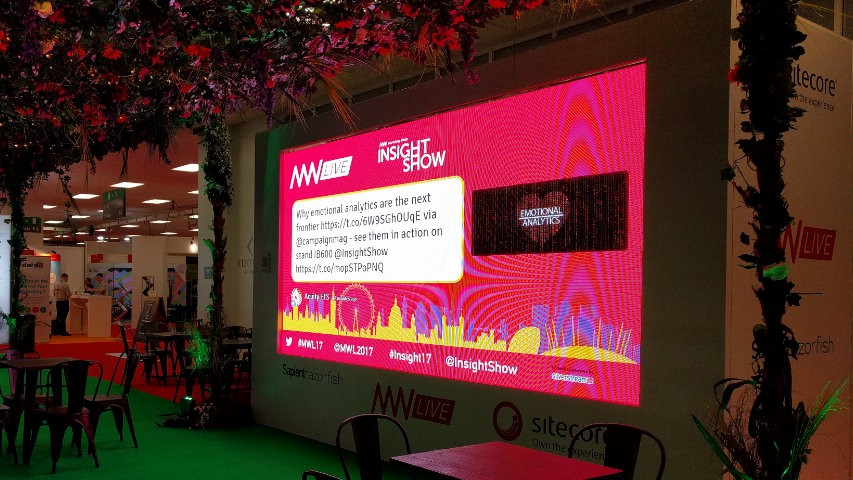 Marketing Week Live Insight Show LED big screen