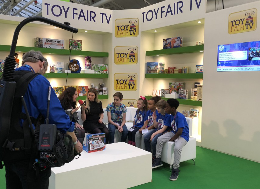 Toy Fair Demo Zone